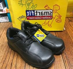 Smartfit 098057 Junior Boy's Leather Oxford Shoes Size: 4.5