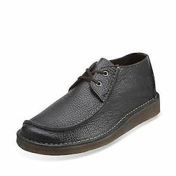 Clarks 13256 Originals Seam Trek Men's Black Leather Casual