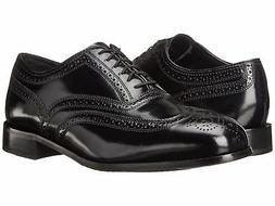 Florsheim 17066 01 Lexington Black Men's Wing Tip Oxford Dre