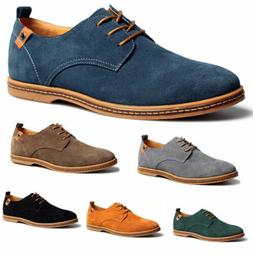 2018 Suede European style leather Shoes Men's oxfords Casual