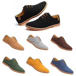 2019 Suede European style leather Shoes Men's oxfords Casual