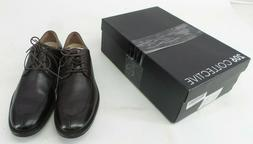 206 Collective Mens Chocolate Brown Leather Oxford Harrison