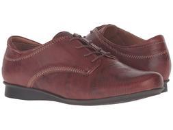 TAOS 235074 Women's Ideal Cognac Leather Oxford Shoes Sz 6-6