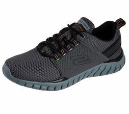 Skechers shoes Wide Fit Men Charcoal Memory Foam Sport Comfo