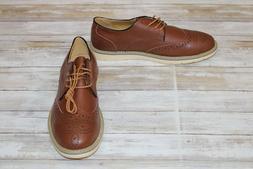Kunsto 5988 Oxfords - Men's Size 11, Brown