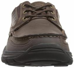 Skechers 64114 USA Mens Expected Gembel Relax Fit Oxford Dar