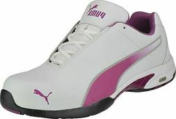 Puma Safety 642805 Velocity Womens White Low Steel Toe ASTM