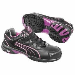 Puma Safety 642885 Stepper Womens Black Low Steel Toe SD Oxf