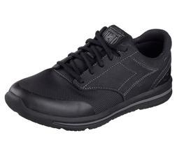 64821 Black Skechers shoes Men Memory Foam Sporty Casual Sne