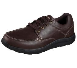 65325 brown shoes men memory foam sport