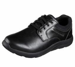 65329 Black Skechers shoes Men's Memory Foam Dress Casual Co