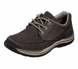 65720 Brown Skechers shoes Men Memory Foam Casual Comfort Ox