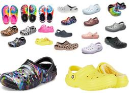 10+ Colors  CROCS Classic WINTER  Fuzzy Plush LINED vegan Cl