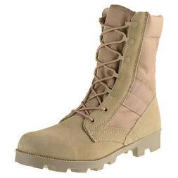 """Ameritac 9"""" Side Zip Suede Leather Combat Work Outdoor Men's"""