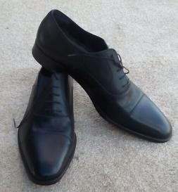 A.testori Studium Cap Toe Oxford Shoes Sz. 11 Black New