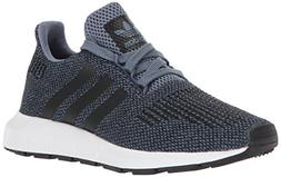 adidas Originals Unisex-Kids Swift Run J Sneaker, Raw Steel
