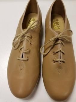 Bloch Adult Oxford Tap Shoes, Tan or CAR, 9.5 With London Ta