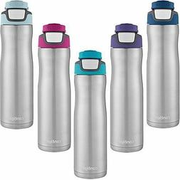 Contigo AUTOSEAL Chill Stainless Steel Water Bottle, 24 oz,