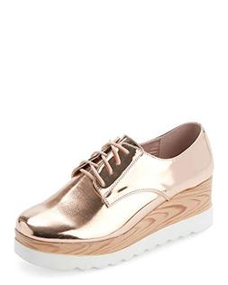 Wanted Womens Beekman Rose Gold Oxford - 7.5