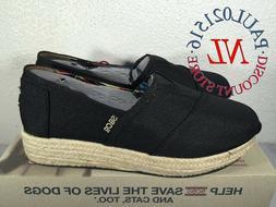 NEW Skechers Bobs Memory Foam Wedge Espadrille Shoes Women's