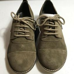 Zara Boys Collection Boys Shoes Size 13 Suede Brown Oxford D
