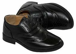 Boys Oxford Lace Up Dress Shoes