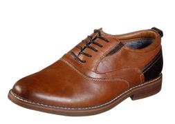 Skechers Bregman - Velsom Leather Lace Up Men's Oxford Shoes