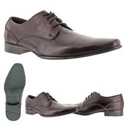 Calvin Klein Brodie Men's Leather Lace-Up Oxford Shoes