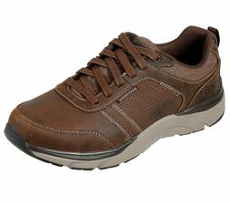 Skechers Brown shoes Men Memory Foam Sporty Casual Comfort L
