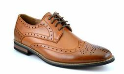 Bruno HOMME MODA ITALY PRINCE Men's Classic Modern Oxford Wi