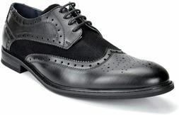 Bruno Marc Men's Dress Shoes Wingtip Classic Oxford Prince,