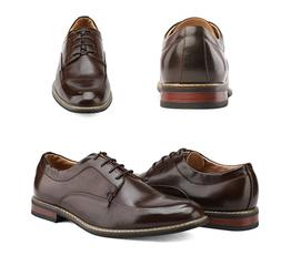 Bruno Marc Men's Formal Classic Lace Up Leather Lined Oxford