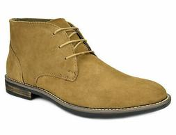 Bruno Marc Mens Suede Leather Lace up Oxfords Casual Chukka