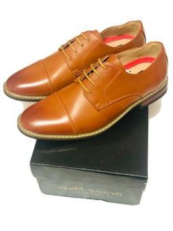 Bruno Marc Moda Italy Men's Prince-6- Brown Classic Shoe Siz