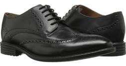 Bostonian by Clarks Men's Garvan Edge Black Oxford Wing Tip