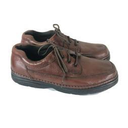 Nunn Bush Cameron Oxford Shoes Mens US 13 Wide Brown Leather