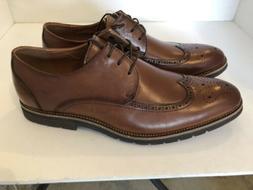 Stacy Adams Cap Toe Oxford Brown Men Shoes Leather Dress Sho