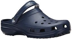 crocs Unisex Classic Clog, Navy, 10 US Men / 12 US Women