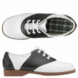 Comfort Plus by Predictions Women's Saddle Oxford Shoes 6W o