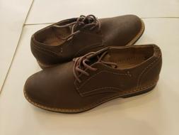 DEXTER Comfort Shoes Burt Mens Oxford Brown Lace Up Memory F