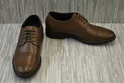 Bostonian Delk Pace Oxford Dress Shoes, Men's Size 7.5M, Bro