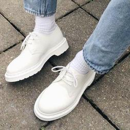 Dr Doc Martens mono 1461 smooth leather oxford shoes solid w