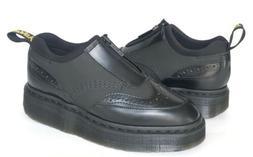 Dr Martens Resnik Brogue Airwair Shoes Black Womens 6 Oxford