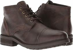 Dr. Scholl's Shoes Men's Airborne Oxford Boot, Brown Leather