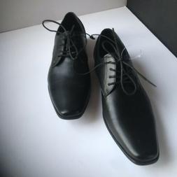 Dress Shoes Men Calvin Klein Color Size 11 Oxford Casual Bla