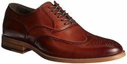 Stacy Adams Men's Dunbar Medium/Wide Memory Foam Wing Tip Ox