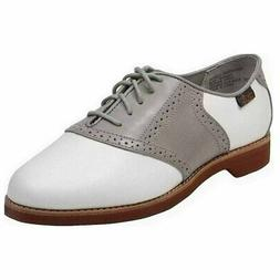 Bass Enfield Oxfords - White - Womens