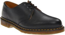Dr. Martens Men's 1461 3 Eye Shoe,Black Nappa,7 UK/8 M US