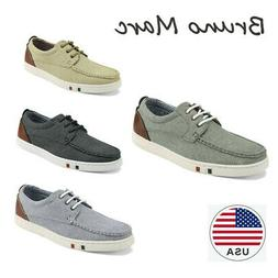 Bruno Marc Fashion Mens Oxfords Casual Low Top Shoes Leather