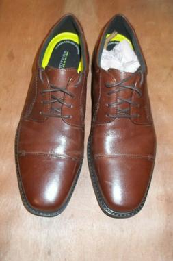 flexlite oxford shoes leather lace up men